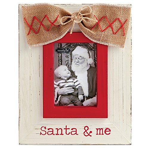 Mud Pie Santa and Me Vertical Frame (Santa Frame)