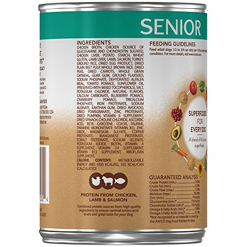 DISCONTINUED: NUTRO ULTRA Senior Chunks in Gravy Canned Dog Food 12.5 Ounce Cans (Pack of 12)