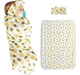 Baby Shower Gift Idea: Chinatera Newborn Baby 2pcs Cotton Pineapple Floral