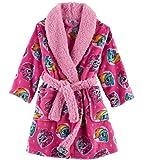 Ame My Little Pony Movie Bathrobe for Toddler Girls Fleece Faux Fur Robe Size 4T