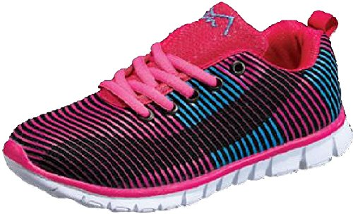 MAIR M-Air Ultra Lightweight, Womens Athletic Sneakers, Mesh Material, Walking-Shoes Wave Fuschia