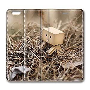 iPhone 6 Leather Case, Personalized Protective Flip Case Cover Danbo In A Nest for New iPhone 6