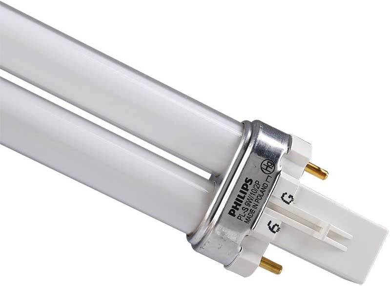 UVA Flexo Print PL-S 9W//10//2P Fluorescent Light Bulb