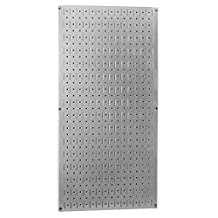 Wall Control 30-GP-3216 GV Metal Pegboard Tool Board Panel, 32-Inch by 16-Inch, Galvanized