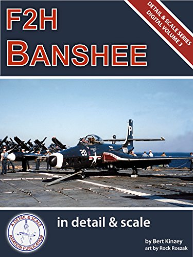F2H Banshee in Detail & Scale Part 1: Prototypes Through F2H-2 Variants (Detail & Scale Series Book - 48th Fighter