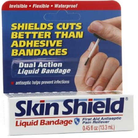 Skin Shield Liquid Bandage 0.45 oz (Pack of 3)