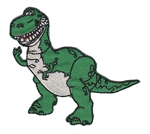 Toy Story 'Rex The Dinosaur' Iron on Sew on Embroidered Badge Applique Motif Patch From PatchWOW
