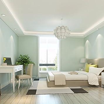 XIAOGEGE Vlies Tapete Schlafzimmer Wohnzimmer Farbe Tapete ...