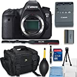 Canon EOS 6D Digital SLR Camera (Body Only) Bundle , 32GB Memory Card, Case , Cleaning Kit and More