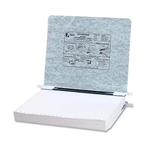 Acco Presstex Hanging Data Binder 8.5 x 11 Inches, Light Gray (54124)