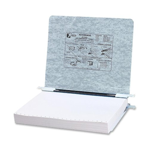 Acco Presstex Hanging Data Binder 8.5 x 11 Inches, Light Gray (54124) Acco Presstex Data Binder
