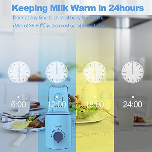51Y4mkjmnSL - Bottle Warmer, 5-in-1 Fast Baby Bottle Warmer And Sterilizer Baby Food Heater&Defrost BPA-Free Warmer For Breastmilk And Formula