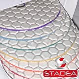 stone marble polishing kit 4'' dry - Diamond Polishing Pads Rubber Backing Pads Set By STADEA