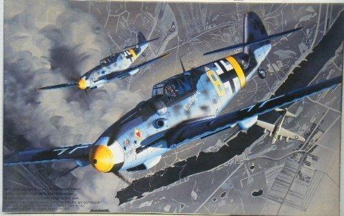 Kunststoff-Modell 1/48 Messerschmitt Bf109G-6 (Mühle Publicis Kasten)