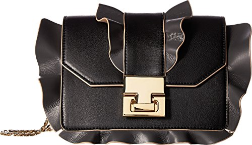 Ivanka Trump Hopewell Crossbody, Black Ruffle