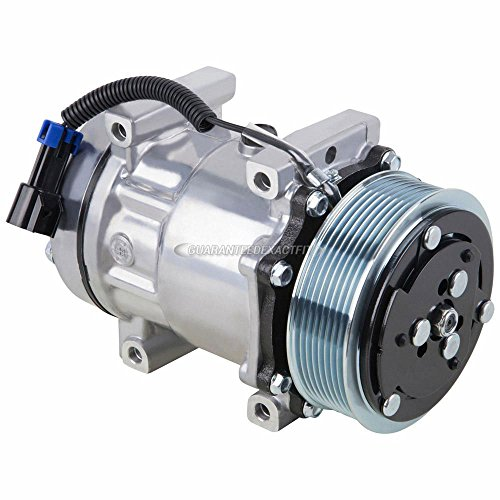 AC Compressor & A/C Clutch For Freightliner Replaces SKI4818 N83-30453S ABPN83-304003 Sanden 4417 4485 4075 - BuyAutoParts 60-02064NA -