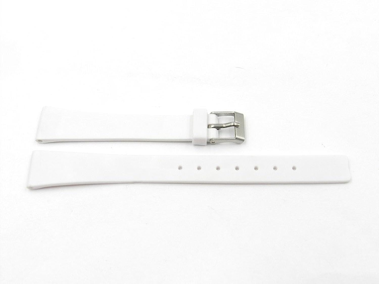 12 mmホワイトゴム時計ストラップfor Ladies  B01N78AN3R