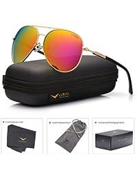 Women Aviator Sunglasses Polarized : UV 400 Protection...
