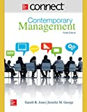 img - for Connect 1 Semester Access Card for Contemporary Management book / textbook / text book