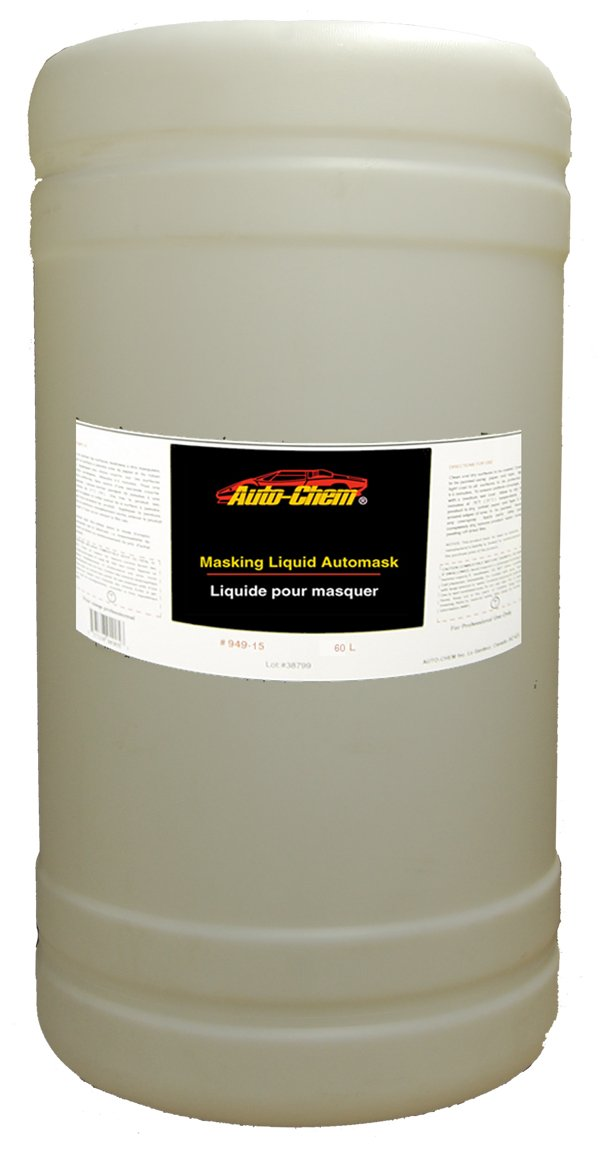 Auto-Chem LIQUID MASK Professional (949-15) Overspray Masking Liquid Film- 15 Gallon