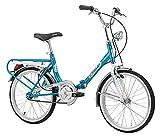 Bicicletta Pieghevole Firenze Old Style in Acciaio 20 pollici...