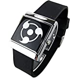 Cosplay Costume Anime Watch Wrist Watch with Cool Led Naruto