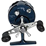 Eagle Claw In Line Ice Fishing Reel, Blue