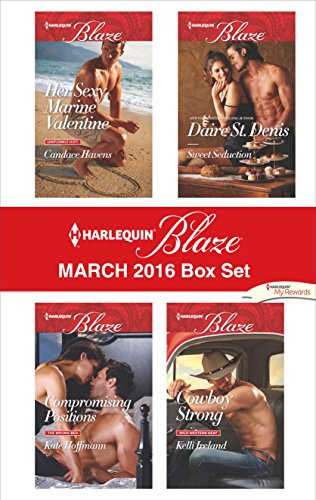 book cover of Harlequin Blaze March 2016 Box Set