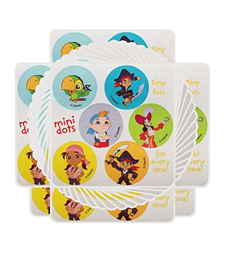 Captain Jake and the Never Land Pirates - Party Favors 20 sheets 120 count -