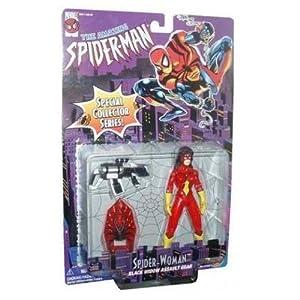 51Y4pOC49gL. SS300 Spider-Man Spider Woman Black Widow Action Figure