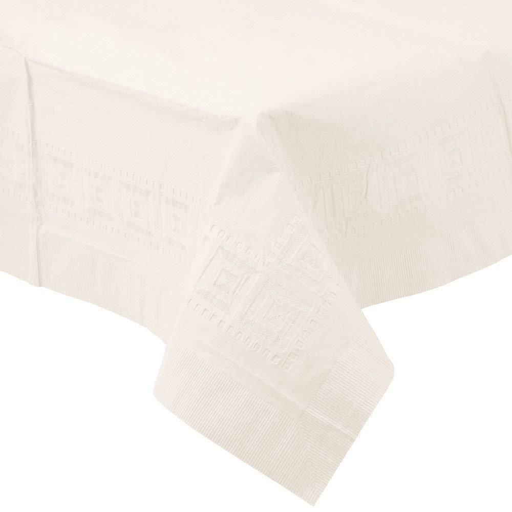 amscan Color Blanco 57115-08A Mantel Rectangular de Papel
