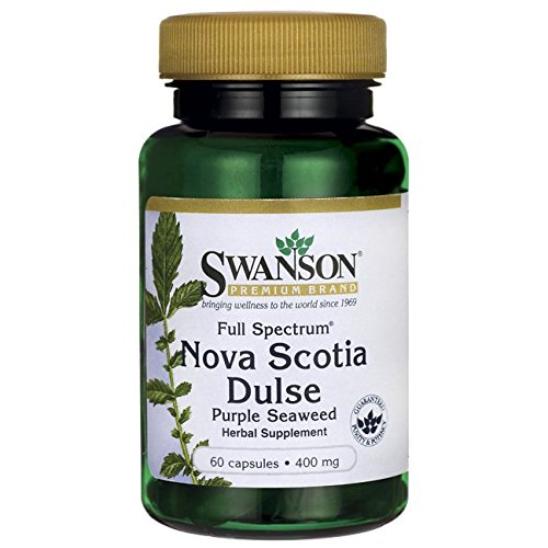 Swanson Full Spectrum Nova Scotia Dulse 400 Milligrams 60 Capsules