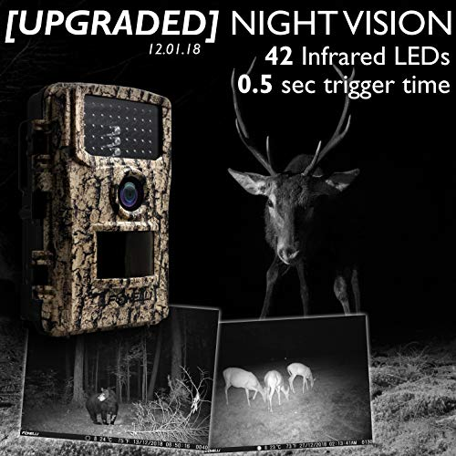Foxelli 14MP Trail Camera