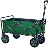 Mac Sports - Folding/Collapsible Utility Wagon, Dark Sea Green