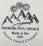 DHDM 313 Area Code Sticker Michigan Detroit Allen