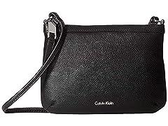 Calvin Klein carrie pebble key item crossbody
