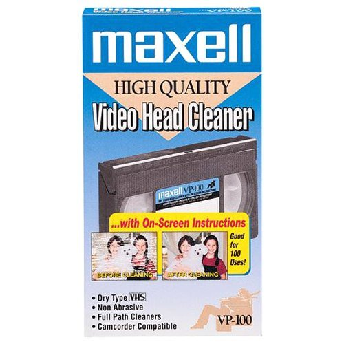 Maxell MAXELL DRY VHS CLEANER (Memory & Blank Media / AV Care)