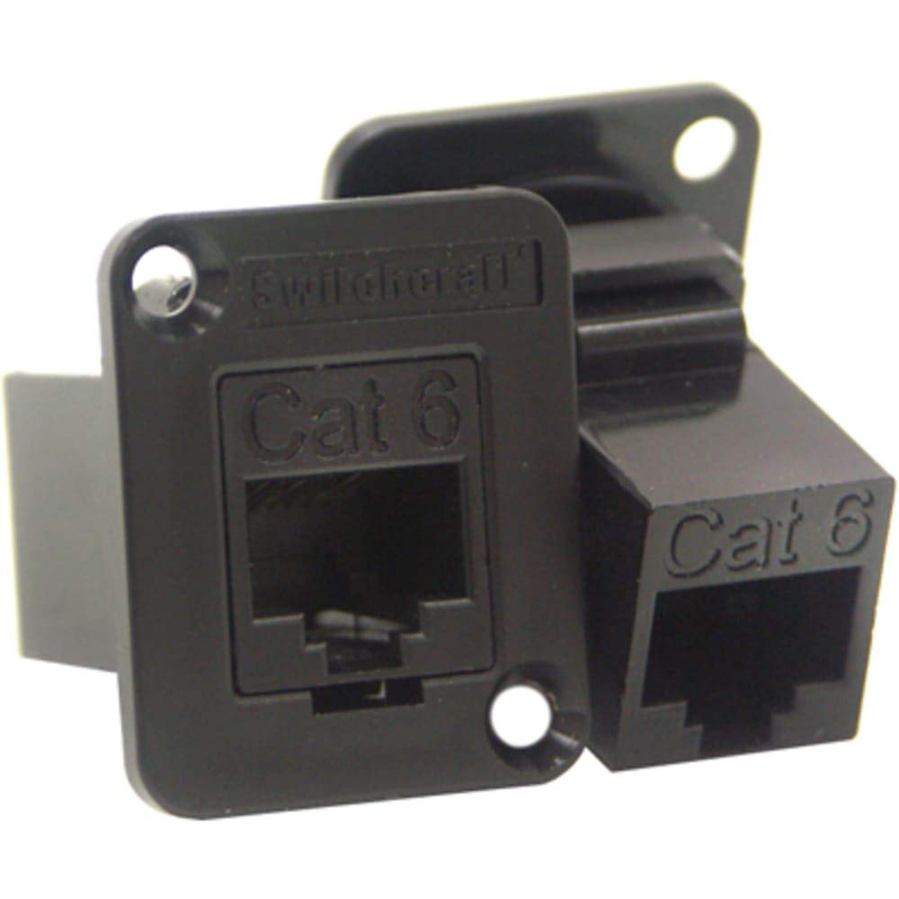 Connector MOD COUPLER 8P8C TO 8P8C, Pack of 2