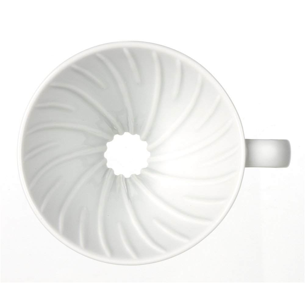 Hario V60 Ceramic Coffee Dripper Size 02 White Server Kit Vcsd R Pots Kitchen Dining