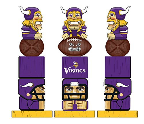 Gear Vikings Minnesota (Team Sports America NFL Minnesota Vikings Tiki Totem)