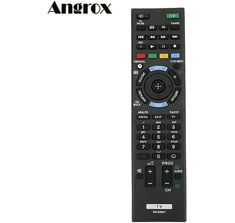Fosa RMT-TX100D - Mando a distancia de repuesto para Sony Smart TV, mando a distancia universal con las mismas funciones que el mando a distancia original, color negro: Amazon.es: Electrónica