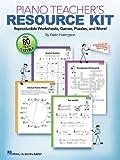 Piano Teacher Resource Kit, Hal Leonard Corporation Staff and Karen Harrington, 1423489578