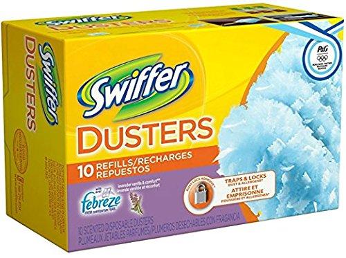 Swiffer Dusters Refills Lavender Vanilla & Comfort 10 ea (Pack of 11)