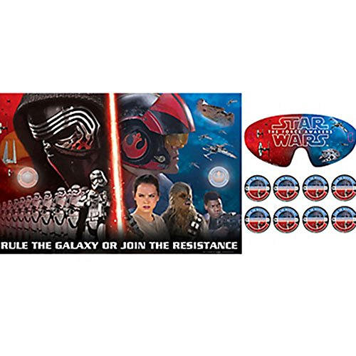 Star Wars Episode VII Party Game Poster (1ct)]()