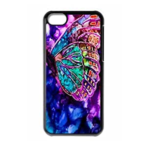 Butterfly ZLB579992 Custom Case for Iphone 5C, Iphone 5C Case