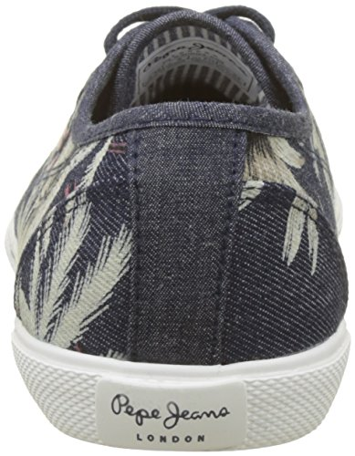 dk Aberlady Denim Palm Jeans Denim da donna Low Pepe Sneakers Blue 5pzvqWqf