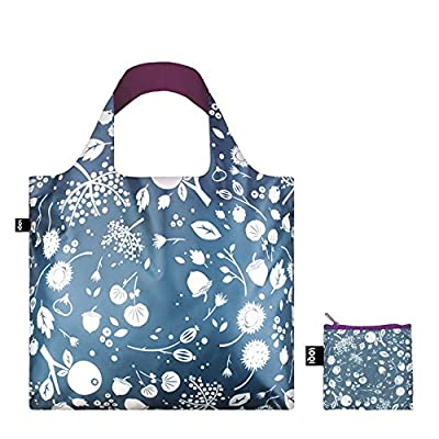 LOQI SE.AS Seed Ash Reusable Shopping Bag, Multicolored