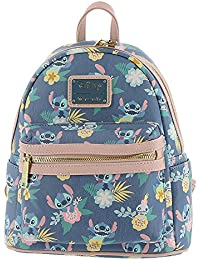 Lilo All Over Print Faux Leather Mini Backpack Standard