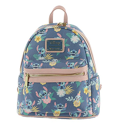 Loungefly Lilo All Over Print Faux Leather Mini Backpack Standard from Loungefly