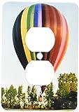 3dRose LLC lsp_1154_6 Hot Air Balloon, 2-Plug Outlet Cover